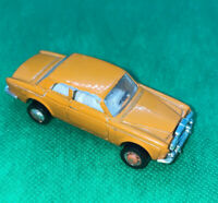 Rare Rolls Royce Orange Silver Shadow Die-Cast Car  Playart Vintage