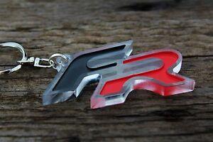 FR logo keychain car accessory parts keyring auto accessory