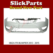 SEAT IBIZA FR BUMPER PRIMED 2012 2013 2014 2015 2016 2017 DAMAGED SEE PICTURES