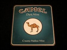 Camel Dark Mint Cigarette Tin Vintage MADE IN GERMANY,w/Original Cover Paper