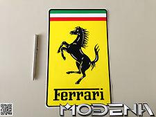 Original Emblem Ferrari Cavallino Aufkleber Wappen Logo Sticker Badge Decal 30cm