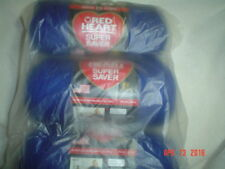3 Skeins of Red Heart Super Saver WW Yarn in Royal  #0385