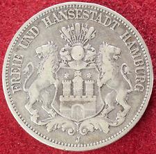 Hamburg 5 Marks 1876 (D2108)