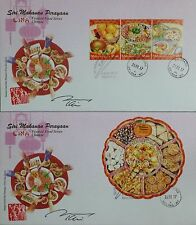 Autograph Festival Food Chinese Lunar New Year Malaysia First Day Cover FDC 2016