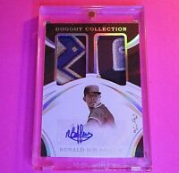2020 Immaculate Ronald Bolanos Padres Rookie Logo Patch Auto RC 1/1 RC Autograph