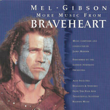 James Horner ‎CD More Music From Braveheart - Europe (EX/EX)