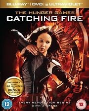 The Hunger Games - Catching Fire (Blu-ray and DVD Combo, 2-Disc Set)