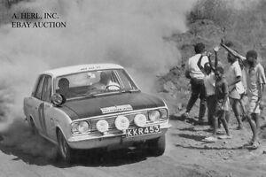 Ford Cortina GT Mk2 - Soderstrom & Palm - Safari Rally 1967 - photograph