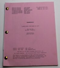 Parenthood * 2011 Original TV Script Season 3, Episode 4 * Dax Shepard, Comedy