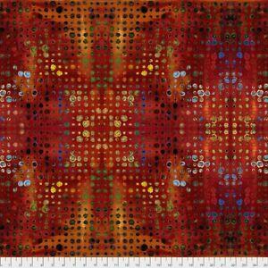 Garden Bright - Glow Free Spirit Cotton Quilt Fabric PWSP004  Sunset Bright
