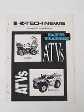 Kawasaki Dealer Magazine K-Tech News Off-Road ATV Articles Prairie Bayou