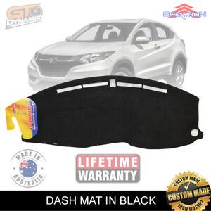 DASH MAT Honda HR-V GEN 2 AIR-BAG SAFE HRV DEC/2014 to 2020 in BLACK DM1386