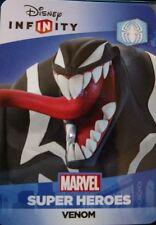 Disney Infinity 2.0 Marvel Super Heroes Spider-Man Venom Web Code Card