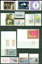 MALAGASY : Nice group of 23 Imperf & 1 Deluxe Sheet. Many Better Topicals VF MNH