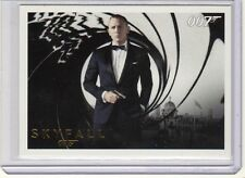 James Bond  Autographs & Relic 110 card GOLD paralelle very rare card set
