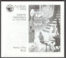 FINLAND H17 (Scott 898-901), Nordia Booklet, VF