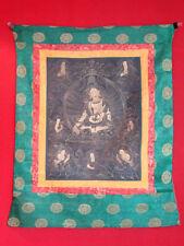 Antik Original Thanka Asiatika Thangka Tibet handbemalt