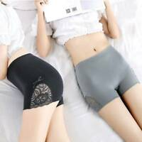 Summer Women's Sexy Underwear Safety Short Pants Shapewear Seamless Lace Shorts