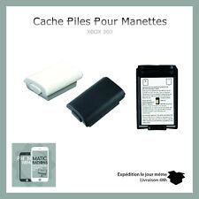 Cache Pile cache batterie support Noir ou Blanc pour manette Xbox 360 (NEUF)