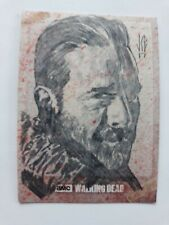 Topps The Walking Dead NEGAN Sketch Card by Jeffrey Benitez!!!!!  It is 1/1!!!!!