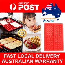 Waffle Maker Mould Silicon Waffle Cooker Bake Belgian Waffles the Easy Way