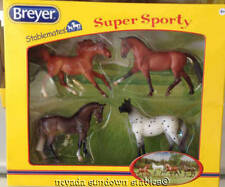 Breyer Model Horses New Stablemate Gift Set Super Sporty