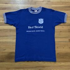 Vintage 70's Salvation Army High School Basketball Team T Shirt Allen Size Small