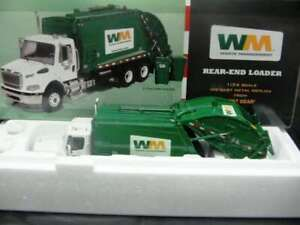 WOW EXTREMELY RARE Mack M2-106 Freightliner Garbage Rear Loader 1:34 First Gear