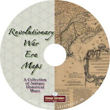 Maps of the Revolutionary War Era { 270 Historic Images ~ USA History } on DVD
