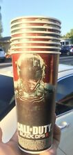 Lot Of 4 Call Of Duty Black Ops III 2015 7-11 Promo Cup Set Game Fuel 2xp