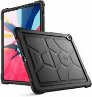 iPad Pro 12.9-inch 2019 Tablet Case Poetic® Soft Silicone Protective Cover Black