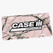 Case IH Pink Realtree Camo License Plate