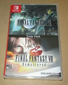 Final Fantasy VII and VIII Remastered Twin Pack (Nintendo Switch) Fast Shipping