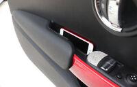 2pcs Car Front Door Armrest Storage Box For BMW MINI Cooper F56 3 Door 2014-2018