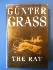 GUNTER GRASS: THE RAT: FIRST EDITION FIRST PRINT