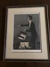 "Rare Vanity Fair ""Wagnerian Opera"" July 27th 1899. KARL MUCK GERMANY conductor"