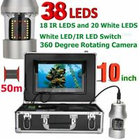 360 Degree Rotating Underwater Fishing Video Camera Fish Finder IP68 Waterproof