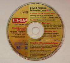 BeOS 5 Personal Edition Linux & Moorhuhn & Co & Free- & Shareware - Top Rarität