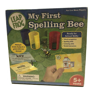 Leap Frog My First Spelling Bee Educational Card Vintage Game