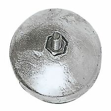 Ánodo ronda de zinc 890g 90 mm. para barco de Vela, Timón o Trim Tabs del casco. Marine