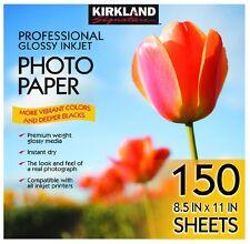 "Kirkland Signature 8.5"" X 11"" Professional Glossy Photo Paper For Inkjet Printer"