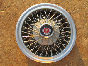 """1977-82 FORD MUSTANG, MERCURY CAPRI 14"""" WIRE WHEEL COVER, HUBCAP, ONE ~1~"""