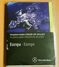 Transfertdes Navigation DVD logiciel MERCEDES COMAND APS Europe 2016 2017 ntg2.5 jaune