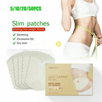 10Pcs Slimming Patch Fast Slim Belly Abdomen Weight Loss Fat burning Patches