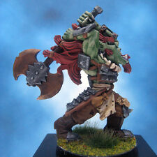Painted Chainmail Miniature Orc Fighter