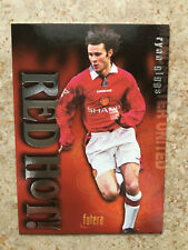 1997 Futera Manchester United Red Hot Limited Edition RYAN GIGGS Mint