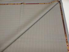 gris / marron rayé Super de 130 Peignée & cachemire pour TAILLEUR TISSU Bower