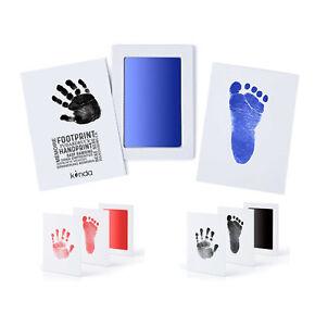 """Baby Fußabdruck Handabdruck Set """"CleanTouch"""" Stempelkissen Abdruckset Farbe"""
