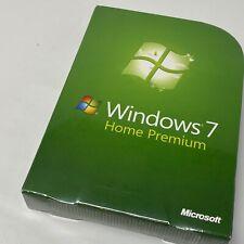 Microsoft Windows 7 Home Premium Full English 32 Bit & 64 Bit DVD GFC-00019