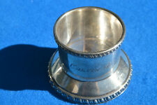 Eastern Steamship Lines S.S. Calvin Austin 1910 Silver Soldered Cup Base
